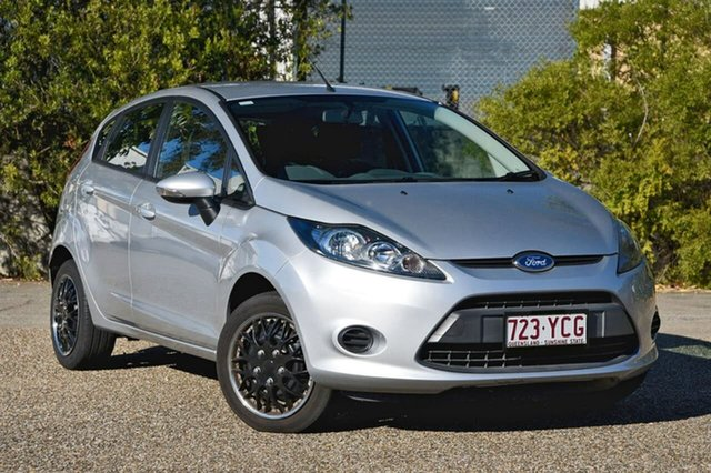 Used Ford Fiesta WT CL PwrShift, 2013 Ford Fiesta WT CL PwrShift Silver 6 Speed Sports Automatic Dual Clutch Hatchback