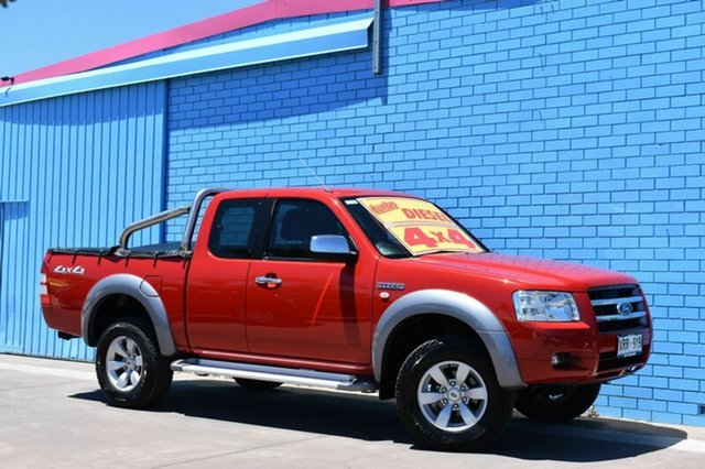 Used Ford Ranger PJ XLT Super Cab, 2008 Ford Ranger PJ XLT Super Cab Red 5 Speed Automatic Utility