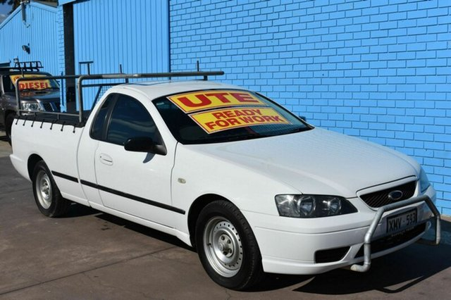 Used Ford Falcon BF Mk II XL Super Cab, 2006 Ford Falcon BF Mk II XL Super Cab White 4 Speed Sports Automatic Cab Chassis
