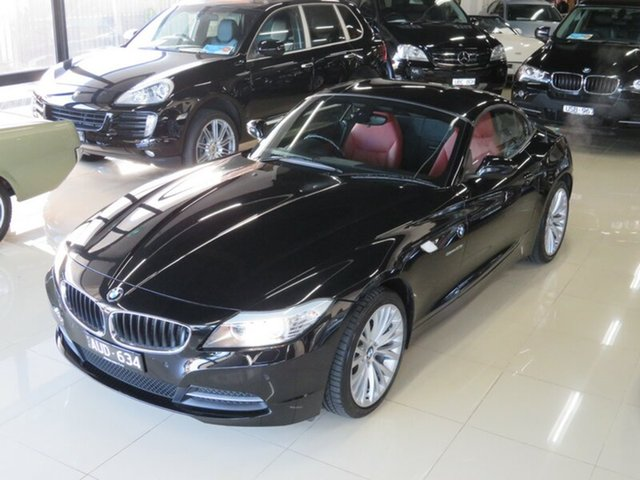 Used BMW Z4 E89 MY10 sDrive 23I, 2010 BMW Z4 E89 MY10 sDrive 23I Black Crystal 6 Speed Auto Steptronic Roadster