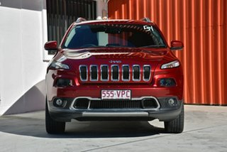 2014 Jeep Cherokee KL Limited Red 9 Speed Sports Automatic Wagon.
