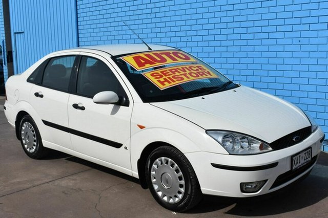 Used Ford Focus LR MY2003 CL, 2003 Ford Focus LR MY2003 CL White 4 Speed Automatic Sedan