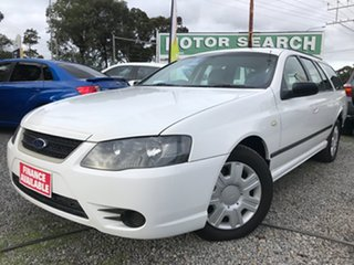 2009 Ford Falcon BF Mk III XT White 4 Speed Sports Automatic Wagon.