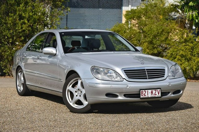 Used Mercedes-Benz S320 W220 , 2002 Mercedes-Benz S320 W220 Silver 5 Speed Automatic Sedan