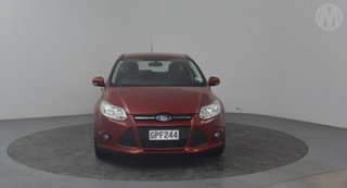 2012 Ford Focus Trend Red Automatic Hatchback.