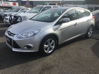 2013 Ford Focus MKII Trend Silver 5 Speed Automatic Hatchback.