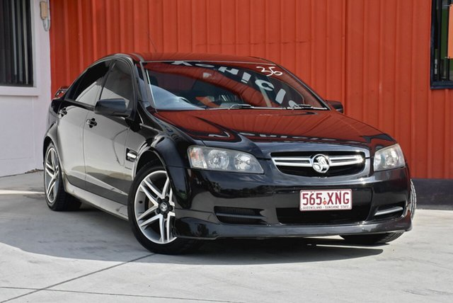 Used Holden Commodore VE MY09.5 60th Anniversary, 2009 Holden Commodore VE MY09.5 60th Anniversary Black 4 Speed Automatic Sedan