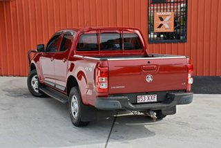 2013 Holden Colorado RG MY13 LX Crew Cab Red 5 Speed Manual Utility.