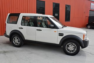 2007 Land Rover Discovery 3 S White 6 Speed Sports Automatic Wagon