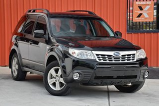 2012 Subaru Forester S3 MY12 X AWD Black 5 Speed Manual Wagon.