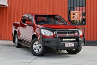 2013 Holden Colorado RG MY13 LX Crew Cab Red 5 Speed Manual Utility