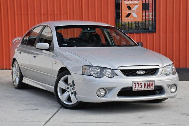 Used Ford Falcon BF XR6, 2006 Ford Falcon BF XR6 Silver 4 Speed Sports Automatic Sedan