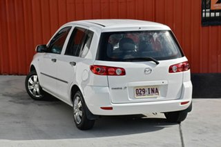 2005 Mazda 2 DY10Y1 Neo White 4 Speed Automatic Hatchback.