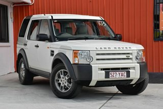 2007 Land Rover Discovery 3 S White 6 Speed Sports Automatic Wagon.