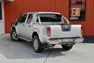 2014 Nissan Navara D40 S7 ST Silver 5 Speed Sports Automatic Utility.