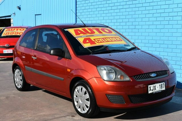 Used Ford Fiesta WQ LX, 2006 Ford Fiesta WQ LX Red 4 Speed Automatic Hatchback