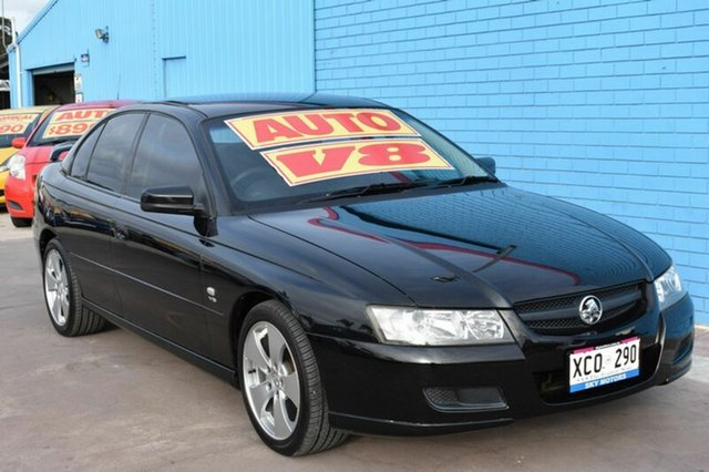 Used Holden Commodore VZ SV8, 2004 Holden Commodore VZ SV8 Black 4 Speed Automatic Sedan