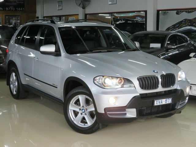 Used BMW X5 E70 MY09 xDrive 30I Executive, 2010 BMW X5 E70 MY09 xDrive 30I Executive Silver Essence 6 Speed Auto Steptronic Wagon