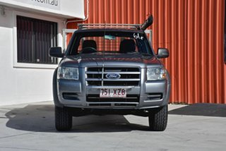 2007 Ford Ranger PJ XL Crew Cab Grey 5 Speed Manual Cab Chassis.