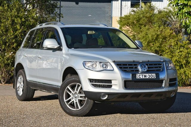 Used Volkswagen Touareg 7L MY10 V6 TDI 4Xmotion, 2010 Volkswagen Touareg 7L MY10 V6 TDI 4Xmotion Silver 6 Speed Sports Automatic Wagon