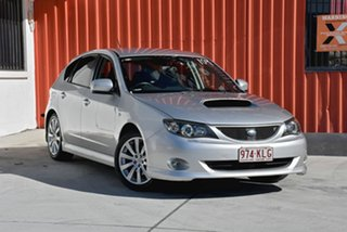 2007 Subaru Impreza G3 MY08 WRX AWD Silver 5 Speed Manual Hatchback.