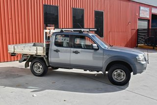 2007 Ford Ranger PJ XL Crew Cab Grey 5 Speed Manual Cab Chassis