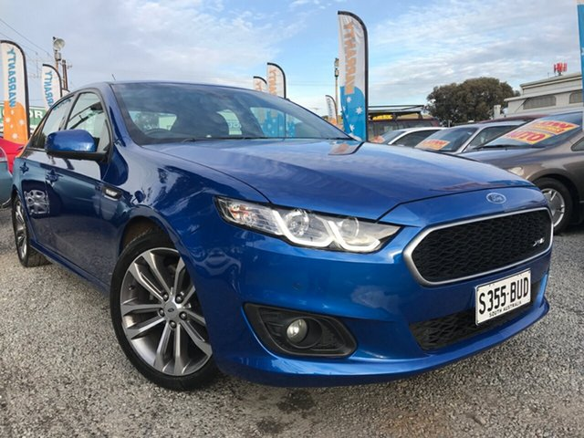 Used Ford Falcon FG X XR6, 2015 Ford Falcon FG X XR6 Blue 6 Speed Sports Automatic Sedan