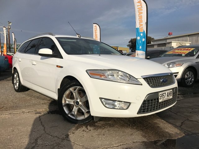 Used Ford Mondeo MB MY11 Zetec, 2010 Ford Mondeo MB MY11 Zetec White 6 Speed Sports Automatic Wagon