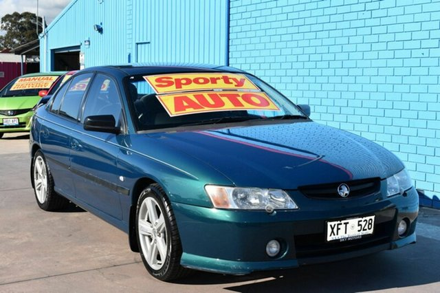Used Holden Commodore VY II Executive, 2004 Holden Commodore VY II Executive Green 4 Speed Automatic Sedan