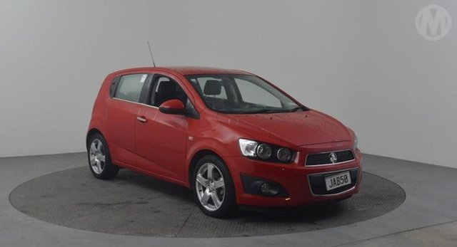 Used Holden Barina  , 2015 Holden Barina CDX 1.6 Red 6 Speed Automatic Hatchback