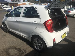 2016 Kia Picanto TA MY17 SI White 4 Speed Automatic Hatchback