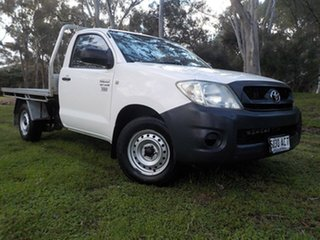 2009 Toyota Hilux TGN16R MY09 Workmate 4x2 5 Speed Manual Cab Chassis.