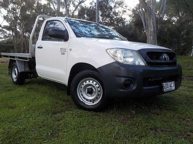 Used Toyota Hilux TGN16R MY09 Workmate, 2009 Toyota Hilux TGN16R MY09 Workmate 5 Speed Manual Cab Chassis