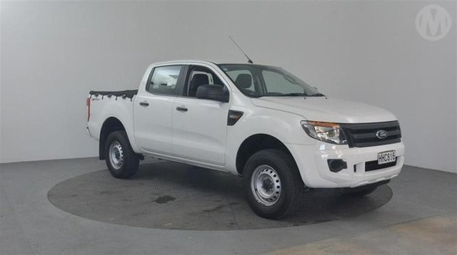 Used Ford Ranger  , 2014 Ford Ranger XL 3.2L White 6 Speed Manual Dual Cab