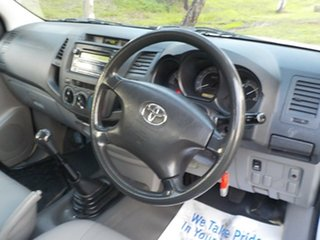 2009 Toyota Hilux TGN16R MY09 Workmate 4x2 5 Speed Manual Cab Chassis