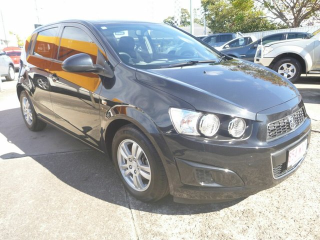 Used Holden Barina TM MY14 CD, 2013 Holden Barina TM MY14 CD Black 5 Speed Manual Hatchback