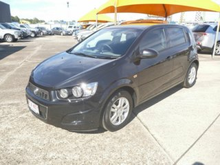 2013 Holden Barina TM MY14 CD Black 5 Speed Manual Hatchback