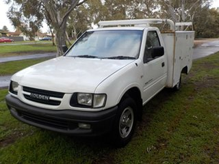 2001 Holden Rodeo TF MY01 LX 4x2 5 Speed Manual Cab Chassis