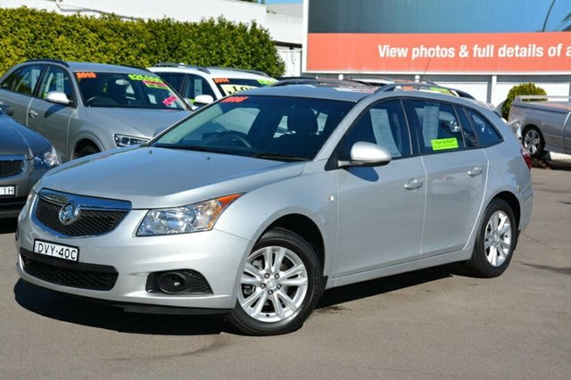 Used Holden Cruze JH Series II MY14 CD Sportwagon, 2014 Holden Cruze JH Series II MY14 CD Sportwagon Silver 6 Speed Sports Automatic Wagon