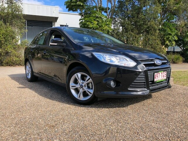 Used Ford Focus LW MKII Trend PwrShift, 2013 Ford Focus LW MKII Trend PwrShift Black 6 Speed Sports Automatic Dual Clutch Hatchback