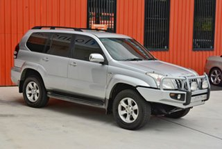 2006 Toyota Landcruiser Prado KDJ120R GXL Silver 6 Speed Manual Wagon