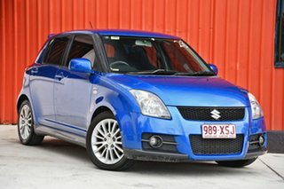 2007 Suzuki Swift RS416 Sport Blue 5 Speed Manual Hatchback.