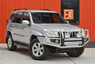 2006 Toyota Landcruiser Prado KDJ120R GXL Silver 6 Speed Manual Wagon.