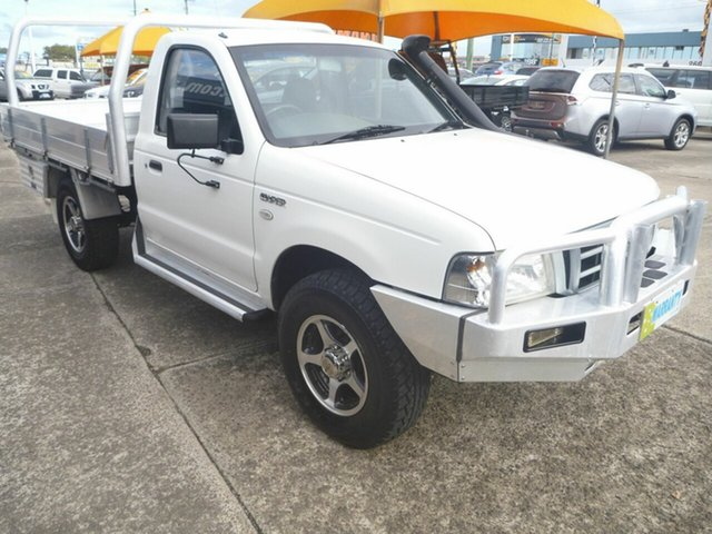 Used Ford Courier PH GL, 2005 Ford Courier PH GL White 5 Speed Manual Cab Chassis
