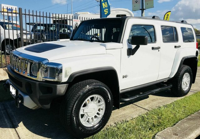 Used Hummer H3  Adventure, 2008 Hummer H3 Adventure White 4 Speed Automatic Wagon