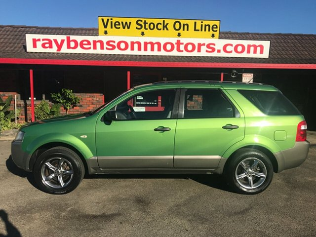 Used Ford Territory  TX, 2005 Ford Territory TX Green 4 Speed Automatic Wagon