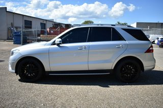2014 Mercedes-Benz ML250 W166 BlueTEC 7G-Tronic + Silver 7 Speed Sports Automatic Wagon