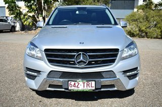 2014 Mercedes-Benz ML250 W166 BlueTEC 7G-Tronic + Silver 7 Speed Sports Automatic Wagon.