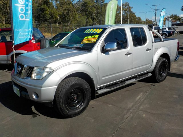 Used Nissan Navara D40 ST-X (4x4), 2007 Nissan Navara D40 ST-X (4x4) Silver 6 Speed Manual Dual Cab Pick-up