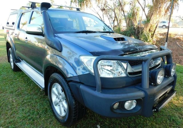 Used Toyota Hilux KUN26R MY12 SR5 Double Cab, 2011 Toyota Hilux KUN26R MY12 SR5 Double Cab Grey 5 Speed Manual Utility